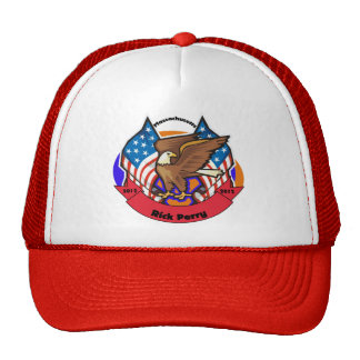 2012 Massachuetts for Rick Perry Mesh Hats