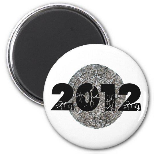 2012 Mayan Calendar 2 Inch Round Magnet
