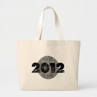 2012 Mayan Calendar Jumbo Tote Bag