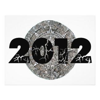 2012 Mayan Calendar Custom Flyer