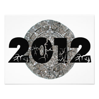 2012 Mayan Calendar Personalized Announcements