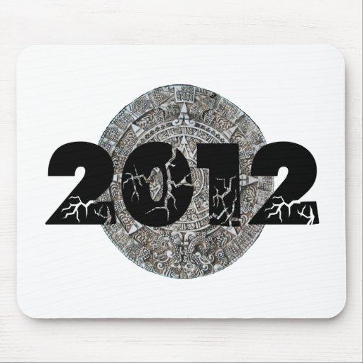2012 Mayan Calendar Mouse Pad