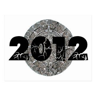 2012 Mayan Calendar Postcard