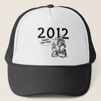 2012 -Mayan New Year Trucker Hat