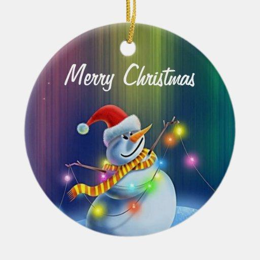 2012 Merry Christmas Ornament
