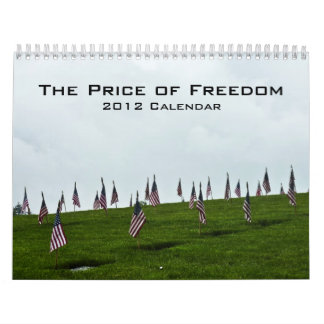 2012 Military Honor Calendar