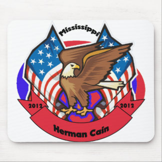 2012 Mississippi for Herman Cain Mouse Pad
