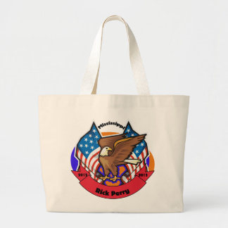 2012 Mississippi for Rick Perry Jumbo Tote Bag