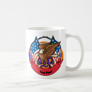 2012 Mississippi for Ron Paul Coffee Mug