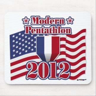2012 Modern Pentathlon Mousepads