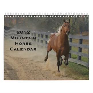 2012 Mountain Horses Calendar