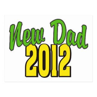 2012 New Dad Postcard