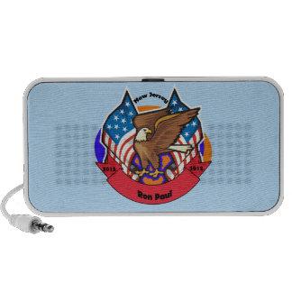2012 New Jersey for Ron Paul iPod Speaker