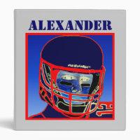 2012 New Kids Football Binder Sports Gift