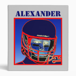 2012 New Kids Football Binder Sports Gift