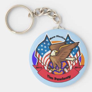 2012 New Mexico for Tim Pawlenty Basic Round Button Keychain