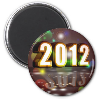 2012 New Year Magnet
