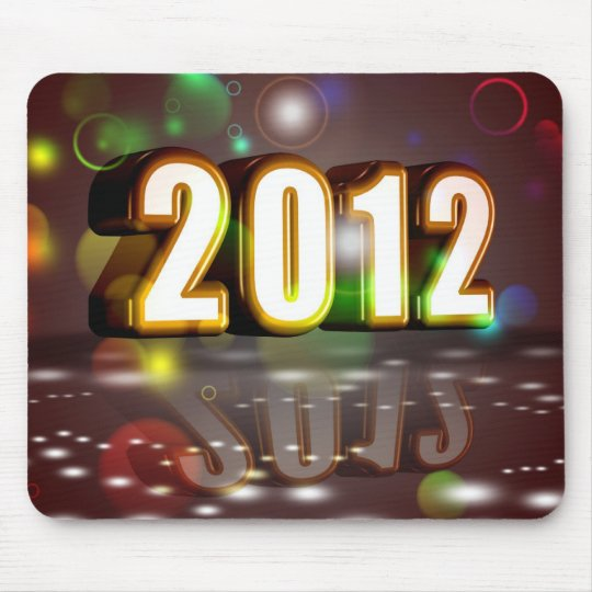 2012 New Year Mouse Pad