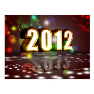 2012 New Year Post Cards