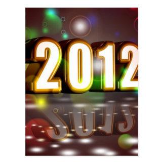2012 New Year Postcard