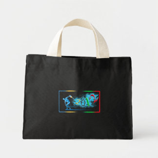2012 New Year Sports Athletes and Athletics Gift Mini Tote Bag