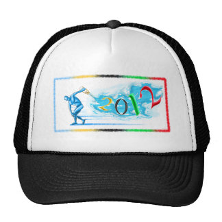 2012 New Year Sports Athletes and Athletics Gift Trucker Hat