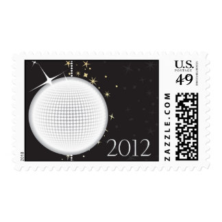 2012 New Year's Eve Ball Drop stamp