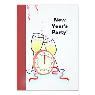 2012 New Year's Eve Party Customizable Invitation