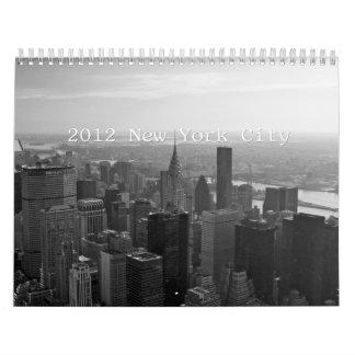2012 New York Calendar