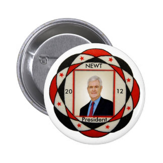 2012 Newt Gingrich Pin