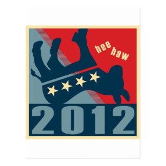 2012 ningunos Dems Postales