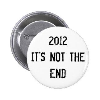 2012 NO EL BOTÓN DEL EXTREMO