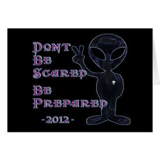 2012 - No se asuste… Prepárese Tarjeta Pequeña