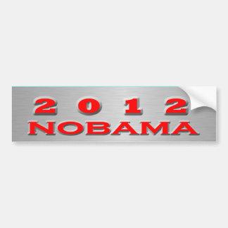 2012 Nobama Car Bumper Sticker