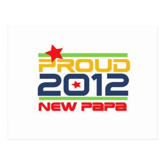 2012 nuevos camisetas y regalos orgullosos de la tarjetas postales