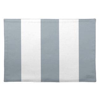 2012 nuevos regalos grises y blancos de Placemat d Manteles Individuales