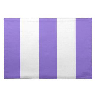 2012 nuevos regalos púrpuras y blancos de Placemat Mantel Individual