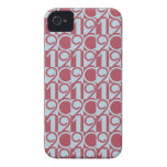 2012 Numbers iPhone 4 Case-Mate Cases