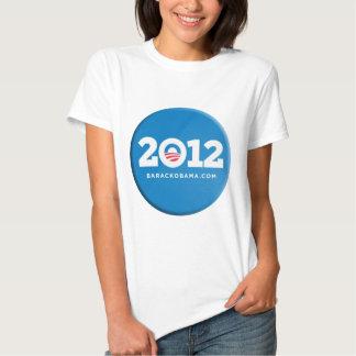 2012 Obama Button Merchandise T Shirt