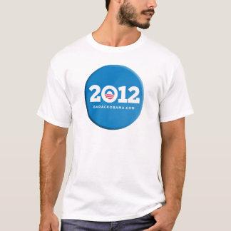 2012 Obama Button Merchandise T-Shirt
