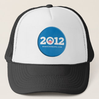 2012 Obama Button Merchandise Trucker Hat