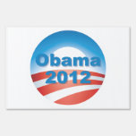 2012 Obama Logo Yard Sign
