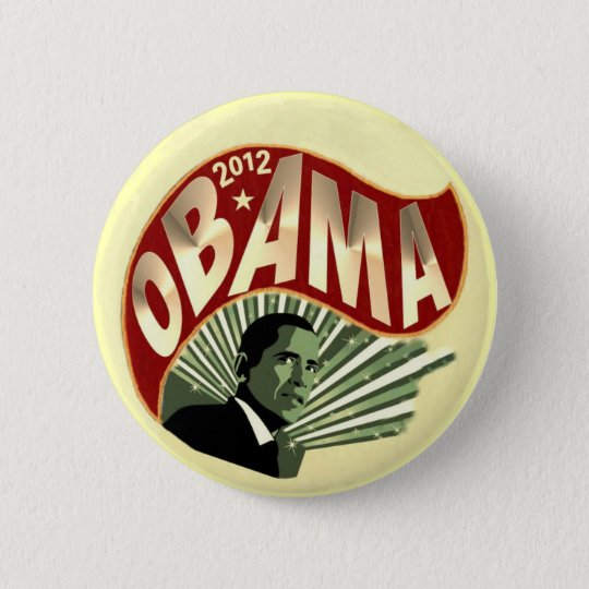 2012 Obama Pinback Button