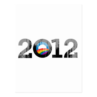 2012 OBAMA PRIDE - Vintage.png Postcard