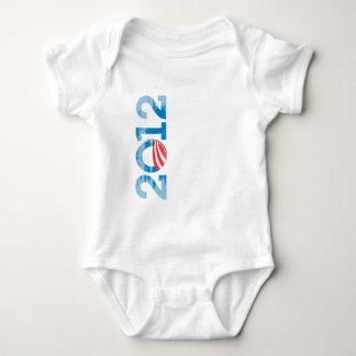 2012-OBAMA Vintage.png Body Para Bebé