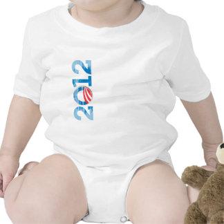 2012-OBAMA Vintage png T Shirts