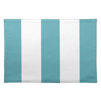 2012 Oceanside Blue & White Stripe Placemat Gift