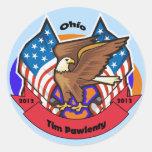 2012 Ohio for Tim Pawlenty Stickers