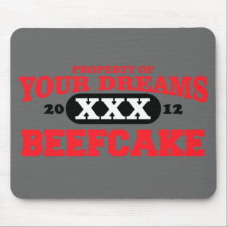 2012 only in your dreams team beefcake mouse pad