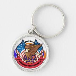 2012 Oregon for Michele Bachmann Keychain